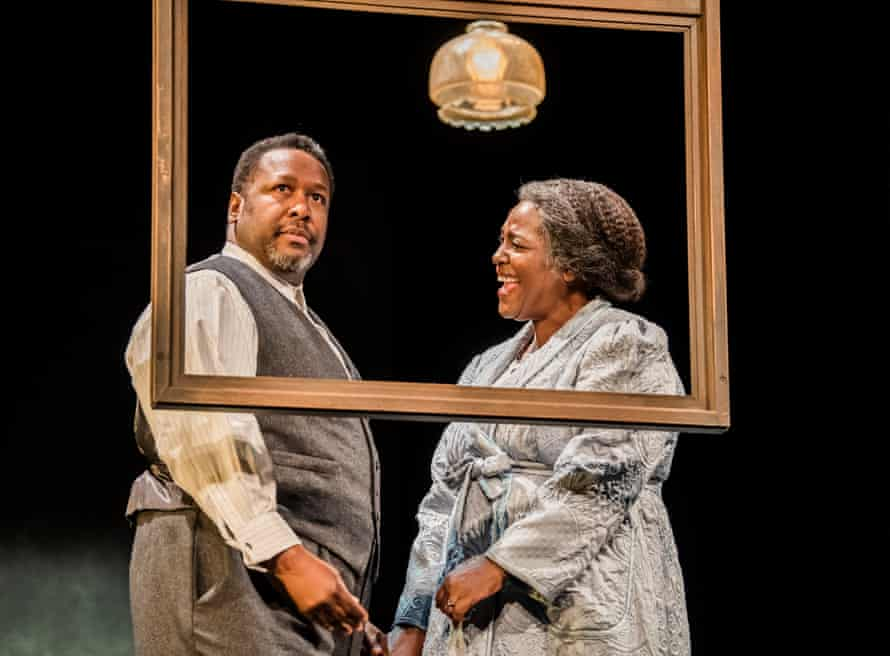 Wendell Pierce and Sharon D Clarke in Death of a Salesman.