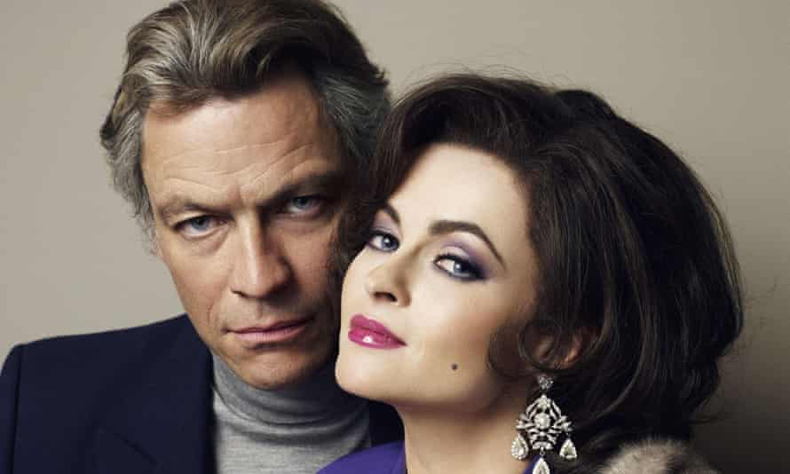 Dominic West and Helena Bonham Carter as Richard Burton and Elizabeth Taylor for the Emmy-nominated drama Burton & Taylor commissioned by BBC Four.