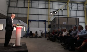 Jeremy Corbyn launching Workplace 2020 this morning.