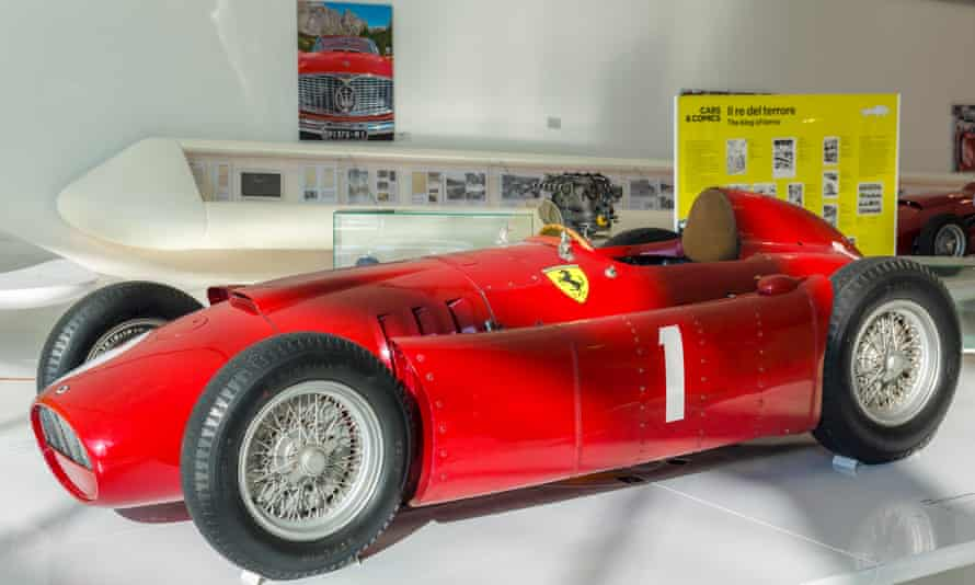 1956 Lancia Ferrari D50 in the Museo Casa Enzo Ferrari.