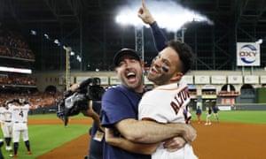 Altuve Astros >> Houston Astros Walk Off With Pennant As Jose Altuve S Homer