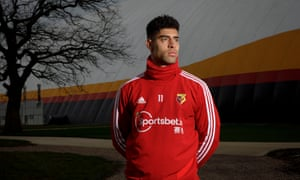 Watford's Adam Masina says: 'One man took me and my brother and looked after us like sons.'