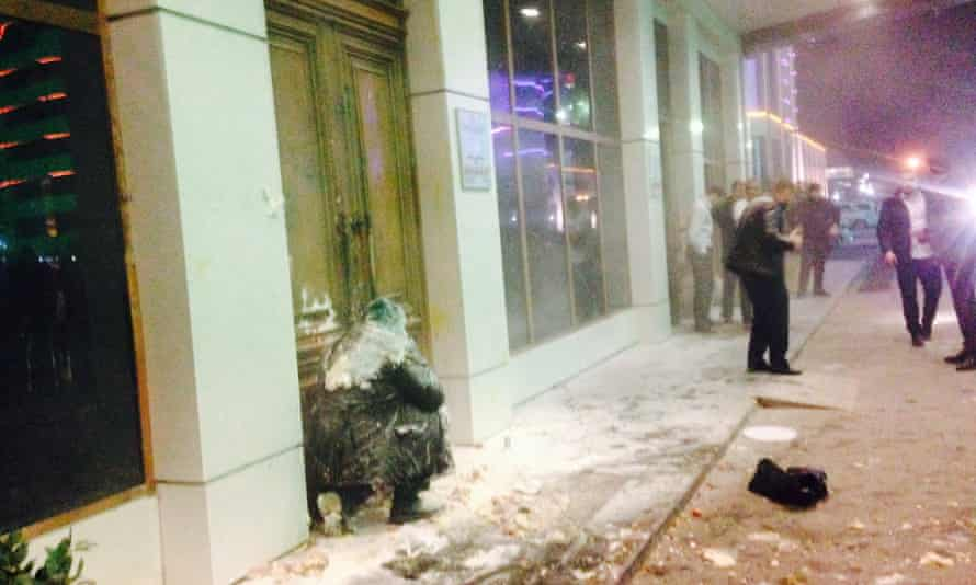 Igor Kalyapin was attacked after being thrown out of his hotel in Grozny.
