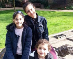 Mierna, Fatima, Zaynab Choucair who were killed in the fire along with their parents Nadia and Bassem and their grandmother Sirria Choucair.