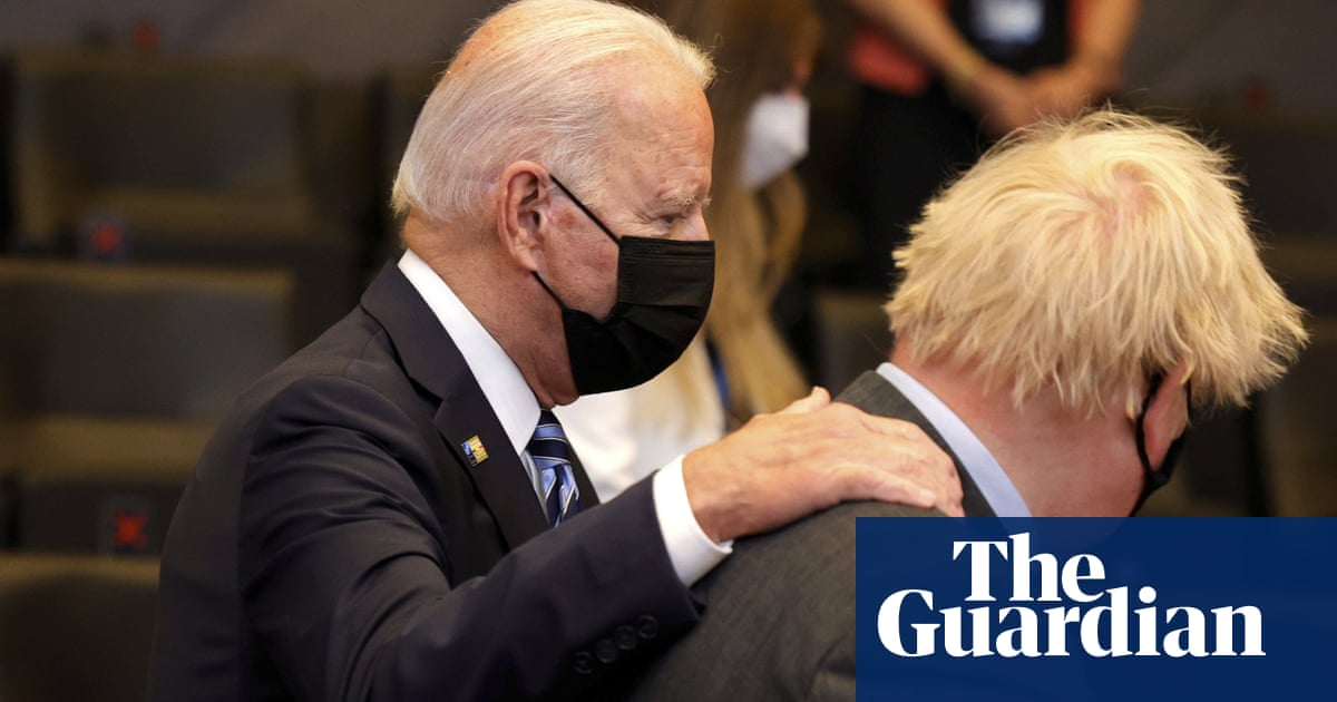 From climate to Covid rules: how Johnson and Biden match up