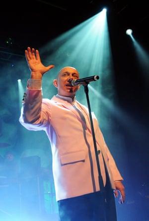 Musician Howard Devoto