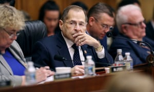 The House judiciary committee chairman, Jerrold Nadler, presiding over Tuesday's vote.