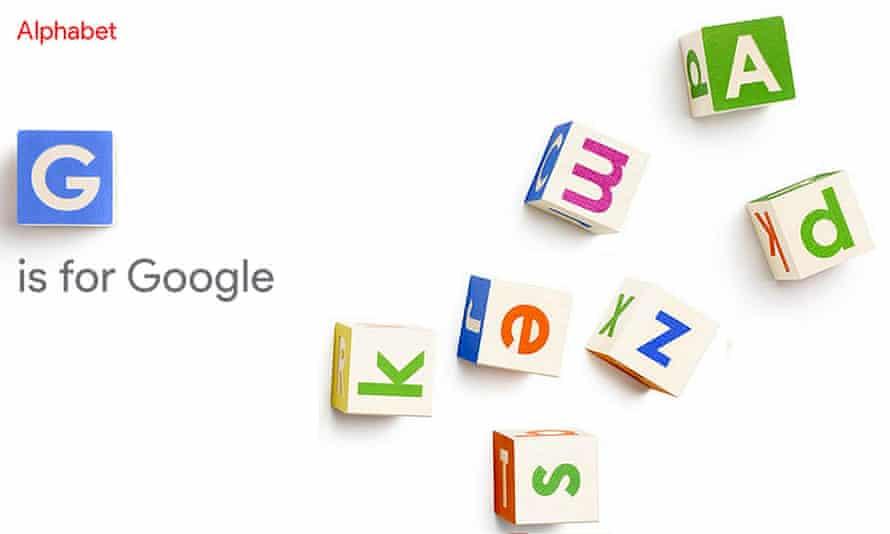 Google is now Alphabet. Sort of.