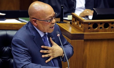 South African President Jacob Zuma has faced a barrage of allegations over his relationship with the Gupta family.
