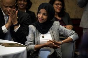 Ilhan Omar attended the Iftar alongside Democrats such as Rashida Tlaib and Alexandria Ocasio-Cortez