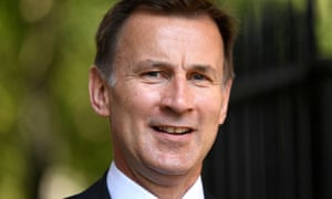 Jeremy Hunt, the former foreign secretary.