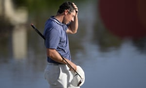 Rory McIlroy did not birdie a hole on Sunday between the 3rd and the 16th hole.