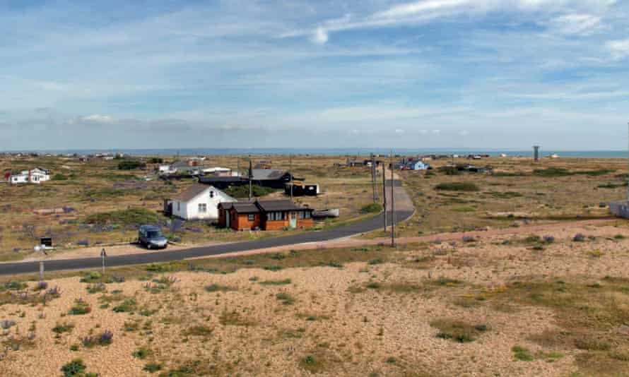 Dungeness Estate is home to 22 properties, mostly converted railway cottages.