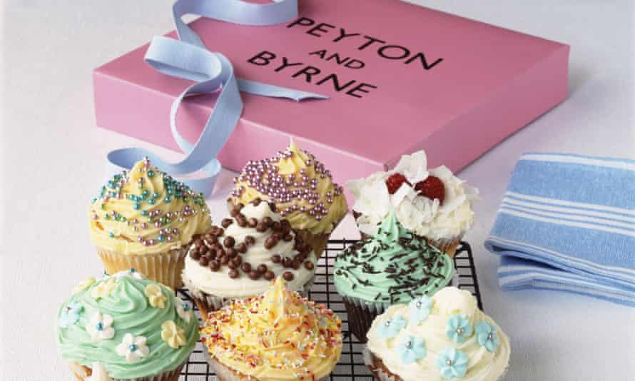 A cake box from Peyton and Byrne