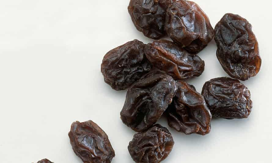 'Fill a jar,' Lucia DeClerc explained to the New York Times. 'Nine raisins a day after it sits for nine days.'