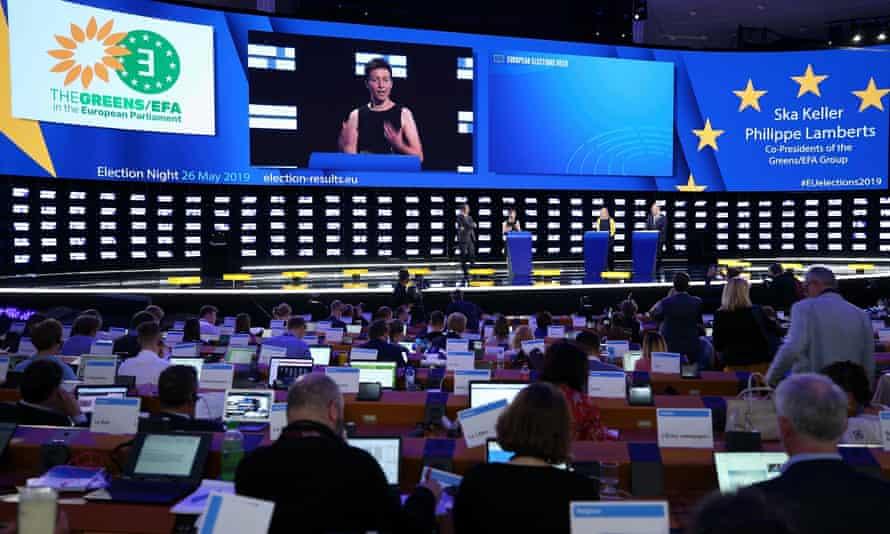 Ska Keller, co-president of the Greens/EFA group