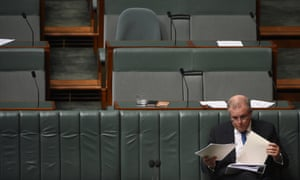 Treasurer Scott Morrison gave 'the kind of answer a year 12 student might give', when asked about falling disposable incomes.