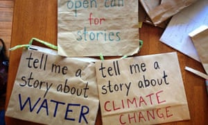 Devi Lockwood has recorded more than 600 interviews with people about climate and water