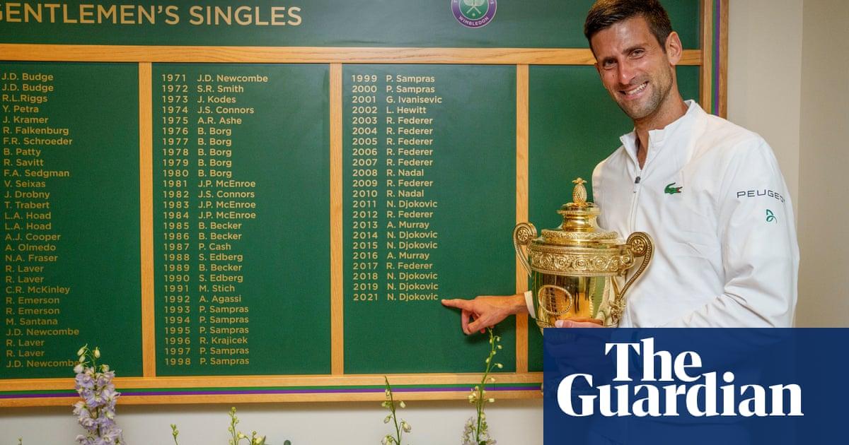 First among equals, Novak Djokovic basks in his everlasting summer | Sean Ingle