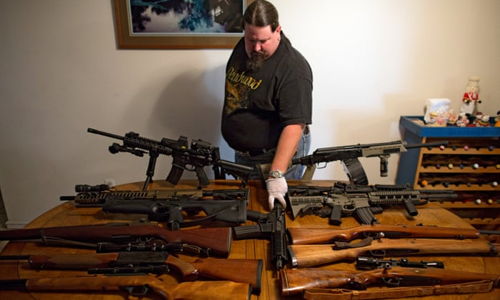 Meet America's gun super-owners – with an average of 17