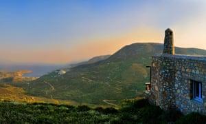 The view from Aria Villas, Serifos, Greece