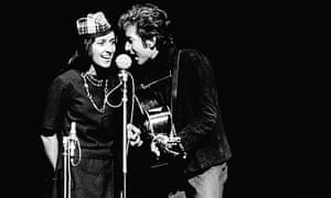 """It seemed inevitable that the particular talents of Bob Dylan and Joan Baez would find their way onto one stage during the winter of 1964–65."""