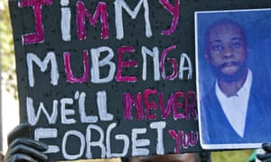 Jimmy Mubenga died during a deportation.