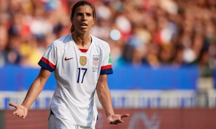 Tobin Heath won the World Cup with the US in 2019