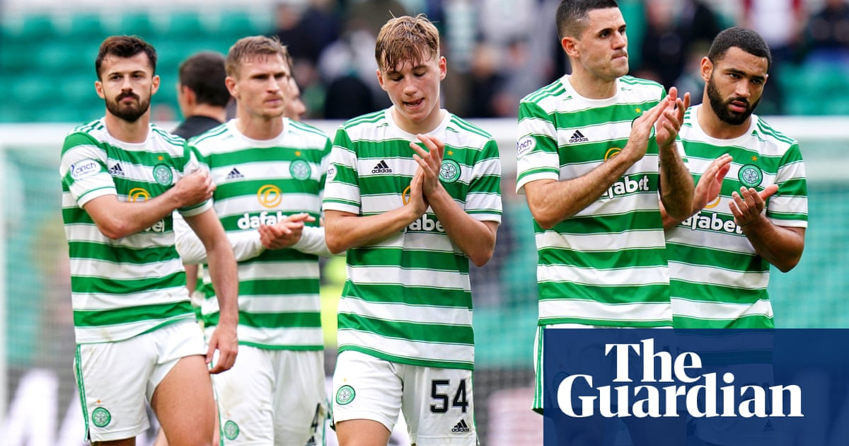 Scottish Premiership: Celtic jeered off after home draw with Dundee United