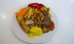 Nourriture végétalienne Prague République tchèque