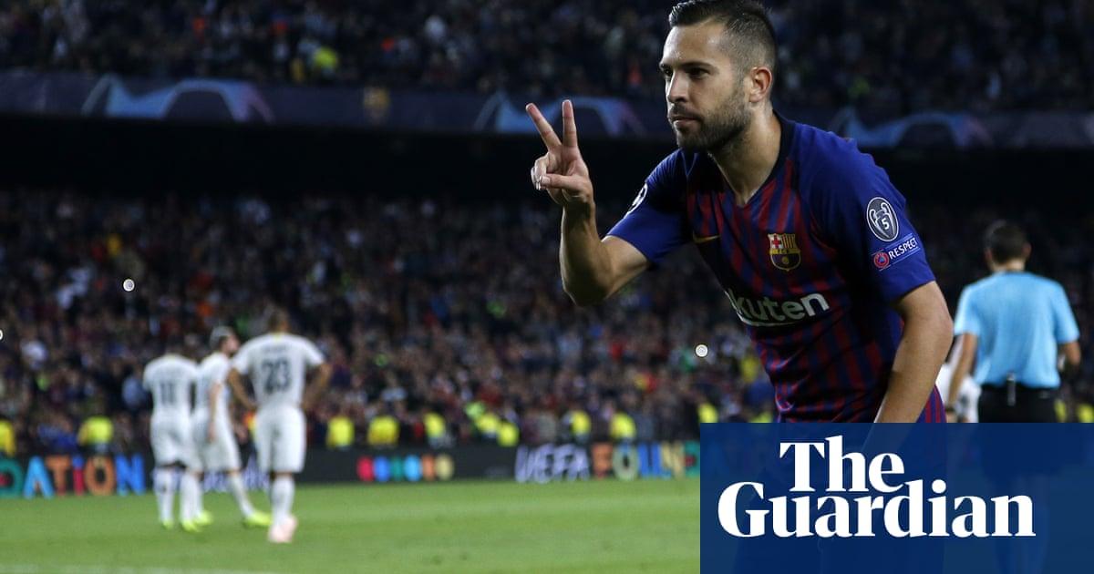 c7dd07b5d Jordi Alba seals Barcelona win over Internazionale despite no Lionel ...