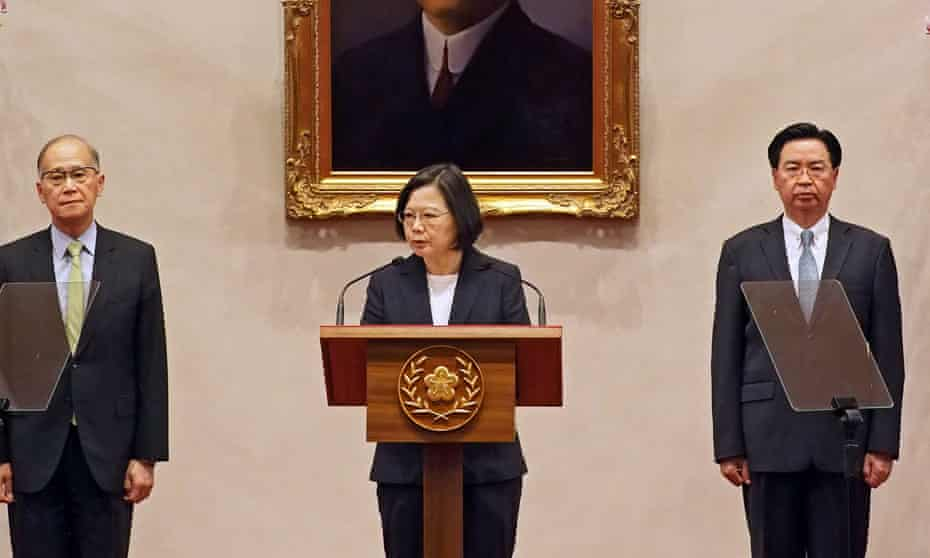 Kiribati's plans to establish relations with Beijing means Taiwan's president, Tsai Ing-wen, has lost six diplomatic allies to China since her election in 2016.