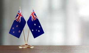 Australian and New Zealand Flag