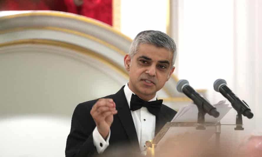 Sadiq Khan, the mayor of London