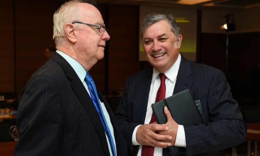 Paul Kelly and Michael Stutchbury