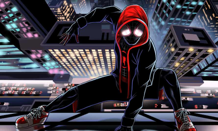 'Rupturing the space-time continuum': Spider Man: Into the Spider Verse:.