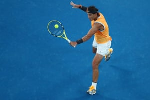 Nadal wins the second set 6-4.