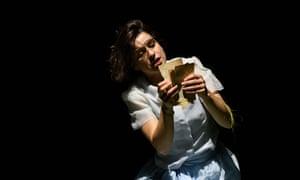 Asmik Grigorian as Tatyana in Eugene Onegin.