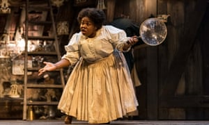 The wiliness of a time-travelling powerhouse … Johnetta Eula'Mae Ackles as Marjory.