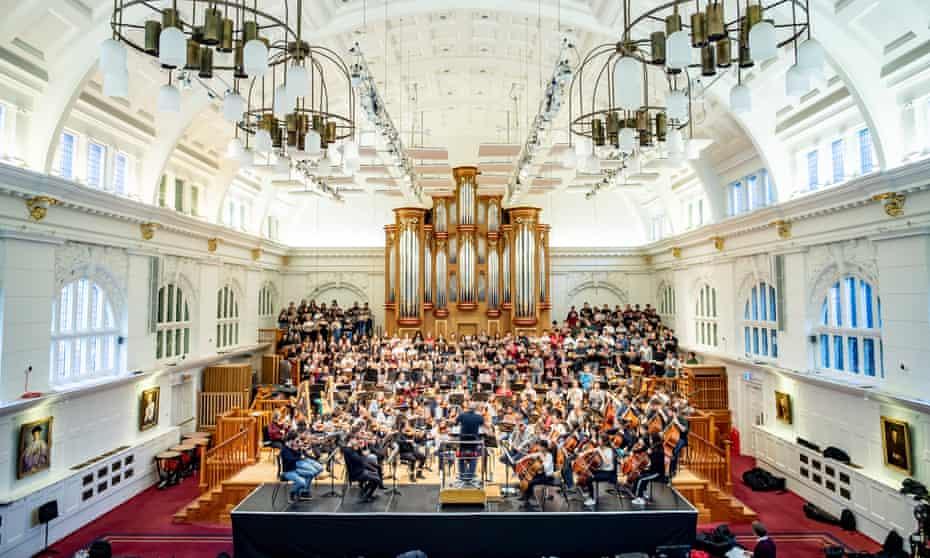 The RCM's Amaryllis Fleming Concert Hall and bespoke Flentrop Orgelbouw organ.