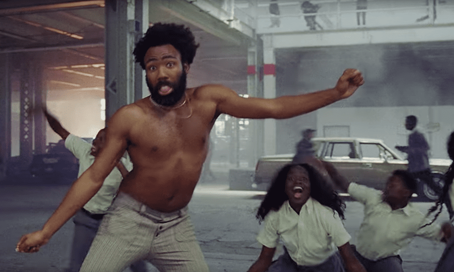 Track of the year, video of the century: Donald Glover's This is America.