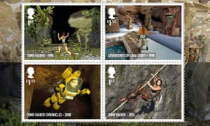 The evolution of Lara Croft games, from 1996 to 2013.