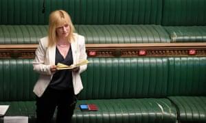 Rosie Duffield in PMQs