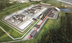 Artist's impression of the Moorside nuclear plant in Cumbria; South Korea is in talks to join a consortium of foreign backers for the project.