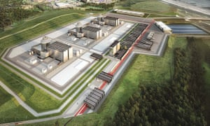 Artist's impression of how the NuGen nuclear plant in Moorside, Cumbria, may have looked.