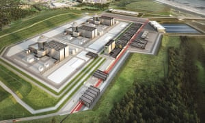 Artist's impression of how the Moorside nuclear plant in Cumbria may look.