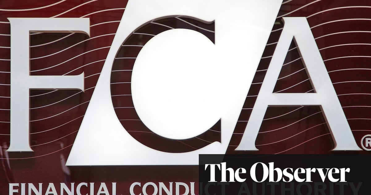Outrage over £125m bonuses for staff at UK's 'failing' financial watchdog