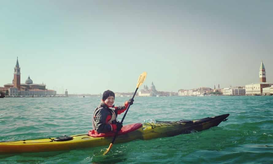 Venice kayaking Paul Williamson