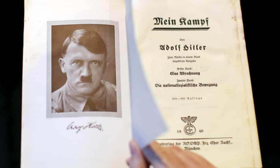 Adolf Hitler wrote Mein Kampf
