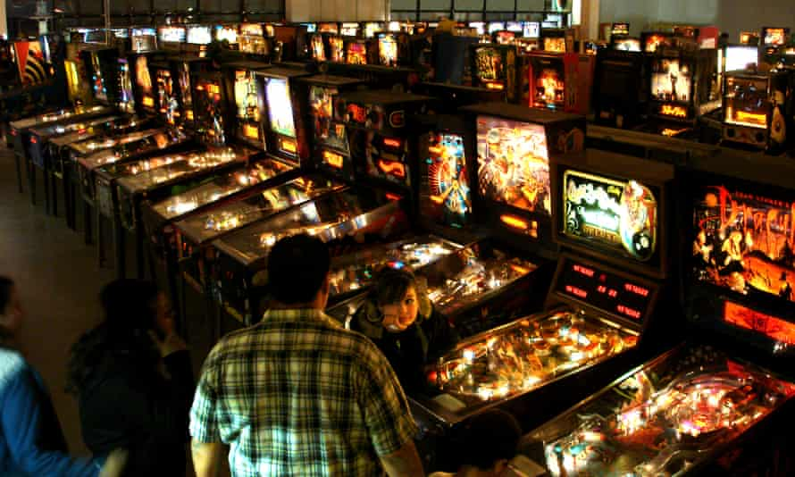 The Pinball Hall of Fame sits in a 9,000-square-foot industrial palace just a few miles east of the Las Vegas Strip.